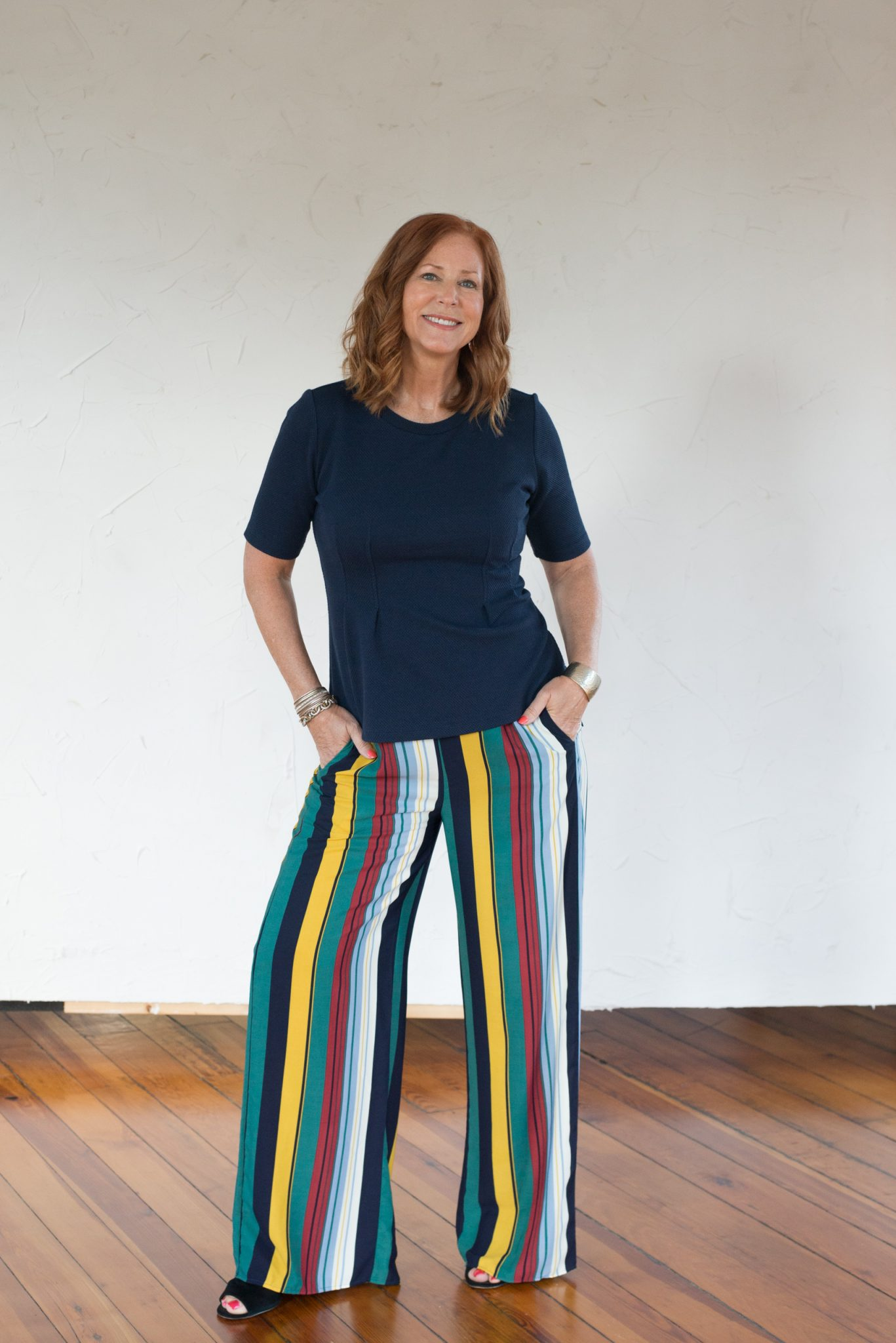 Not Your Typical Striped Pants